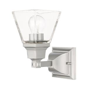 Mission - One Light Wall Sconce