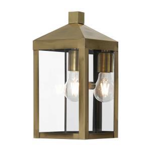 Nyack - 12.75 Inch One Light Outdoor Wall Lantern