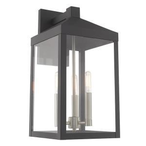 "Nyack - 17.5"" Three Light Outdoor Wall Lantern"
