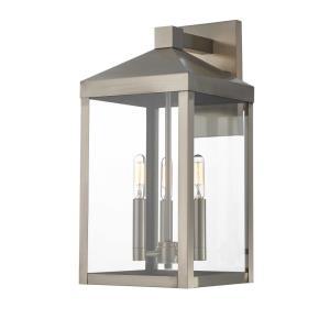 Nyack - 17.5 Inch Three Light Outdoor Wall Lantern