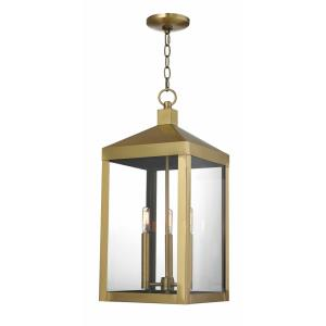 Nyack - 3 Light Outdoor Pendant Lantern
