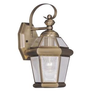 Georgetown - One Light Outdoor Wall Lantern