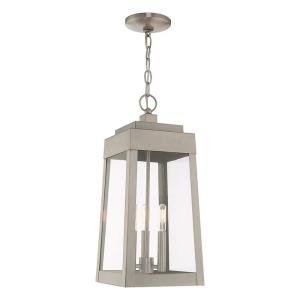 Oslo - 3 Light Outdoor Pendant Lantern in Oslo Style - 8.25 Inches wide by 19.75 Inches high