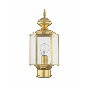 Outdoor Basics - One Light Outdoor Post Lantern