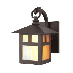 Montclair Mission - 1 Light Outdoor Wall Lantern in Montclair Mission Style - 5.5 Inches wide by 8.5 Inches high