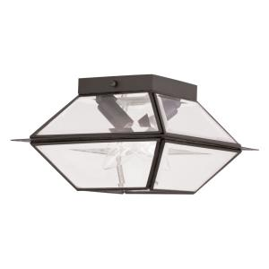 Westover - Two Light Outdoor Flush Mount