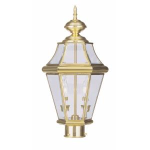 Georgetown - Two Light Outdoor Post Lantern