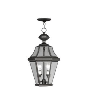 Georgetown - Two Light Outdoor Chain Hanging Lantern