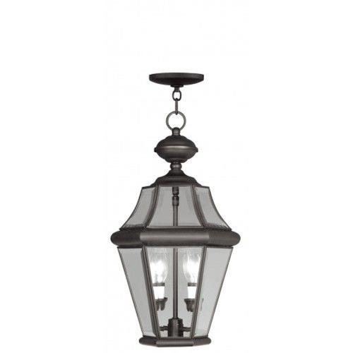 Livex Lighting 2265-07 Georgetown - Two Light Outdoor Chain Hanging Lantern