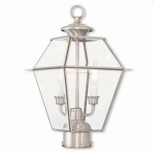 Westover - Two Light Outdoor Post-Top Lantern
