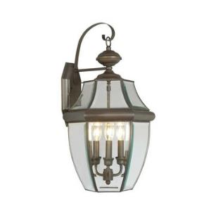 Monterey - Three Light Outdoor Wall Sconce