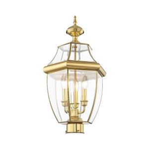 Monterey - 3 Light Outdoor Post Top Lantern