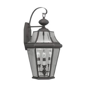 "Georgetown - 24"" Three Light Outdoor Wall Lantern"