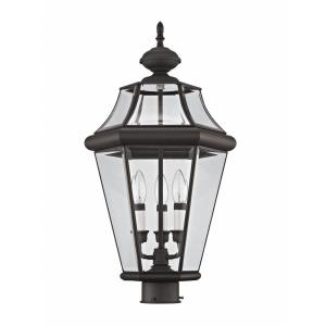 Georgetown - Three Light Outdoor Post Head