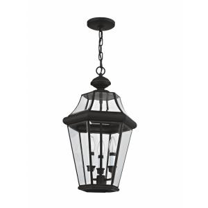 Georgetown - Three Light Outdoor Pendant