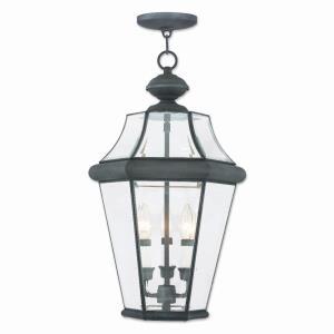 Georgetown - Three Light Outdoor Chain Lantern