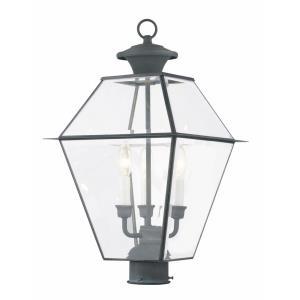Westover - Three Light Outdoor Post Lantern