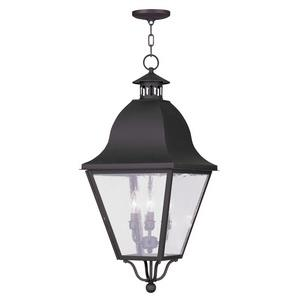 Amwell - Four Light Outdoor Chain Hanging Lantern