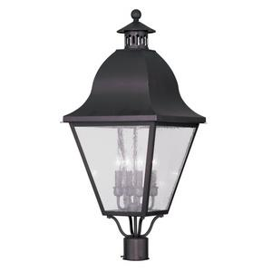 Amwell - Four Light Outdoor Post Head