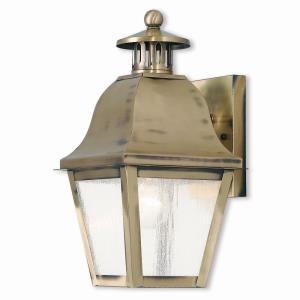 Amwell - One Light Outdoor Wall Lantern