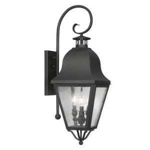 Amwell - Three Light Outdoor Wall Sconce
