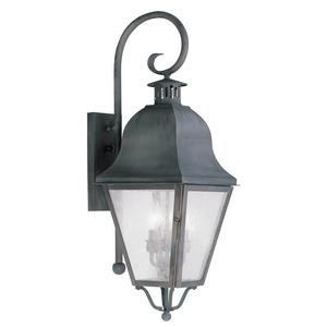 Amwell - Three Light Outdoor Wall Lantern