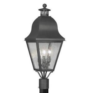 Amwell - Three Light Outdoor Post Light