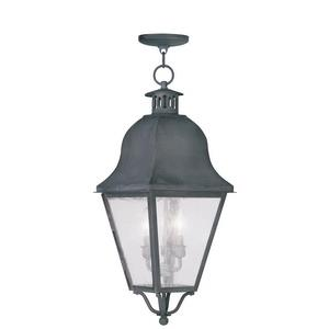 Amwell - Three Light Outdoor Hanging Lantern