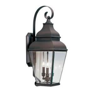 Exeter - Three Light Outdoor Wall Lantern