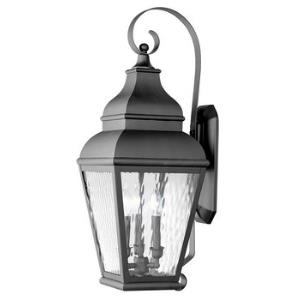 Exeter - Three Light Outdoor Wall Sconce