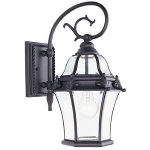 Fleur De Lis - One Light Outdoor Wall Sconce