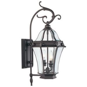 Fleur De Lis - Two Light Outdoor Wall Sconce