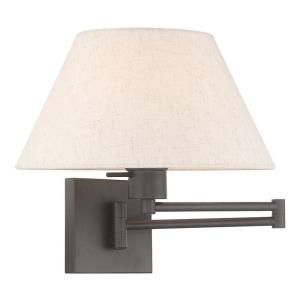 1 Light Swing Arm Wall Sconce