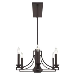 Trumbull - 9 Light Linear Chandelier in Trumbull Style - 18.25 Inches wide by 17.5 Inches high