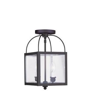 Milford - Two Light Convertible Flush Mount