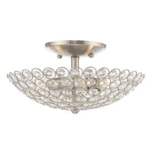 Cassandra - 2 Light Flush Mount in Cassandra Style - 13 Inches wide by 6 Inches high
