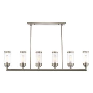 Hillcrest - Six Light Linear Chandelier