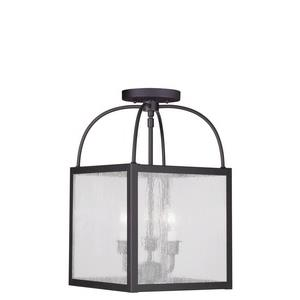 Milford - Three Light Convertible Semi-Flush Mount