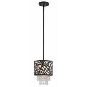 Allendale - 1 Light Mini Pendant in Allendale Style - 8 Inches wide by 12.25 Inches high