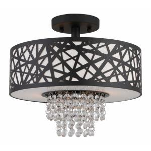Allendale - 2 Light Semi-Flush Mount in Allendale Style - 12.88 Inches wide by 10.4 Inches high