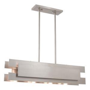 Varick - Four Light Linear Chandelier