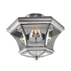 Monterey - Three Light Semi-Flush Mount