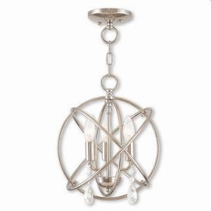 "Aria - 14.25"" Three Light Convertible Mini Chandelier"