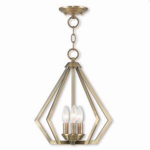 Prism - 3 Light Convertible Mini Chandelier