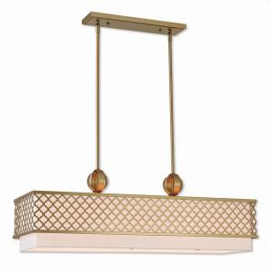 Arabesque - 9 Light Linear Chandelier