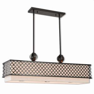 Arabesque - 9 Light Linear Chandelier