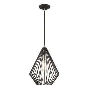 Geometric - 1 Light Mini Pendant