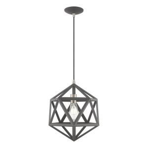 Geometric Shade - 13 Inch One Light Mini Pendant