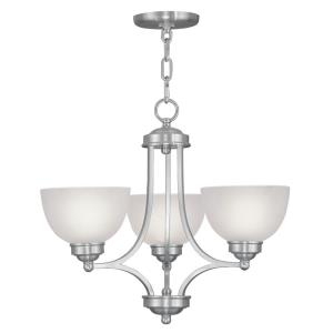 Somerset - 3 Light Chandelier in Somerset Style - 20 Inches wide by 18 Inches high