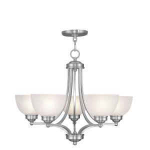 Somerset - 5 Light Chandelier in Somerset Style - 25 Inches wide by 20 Inches high